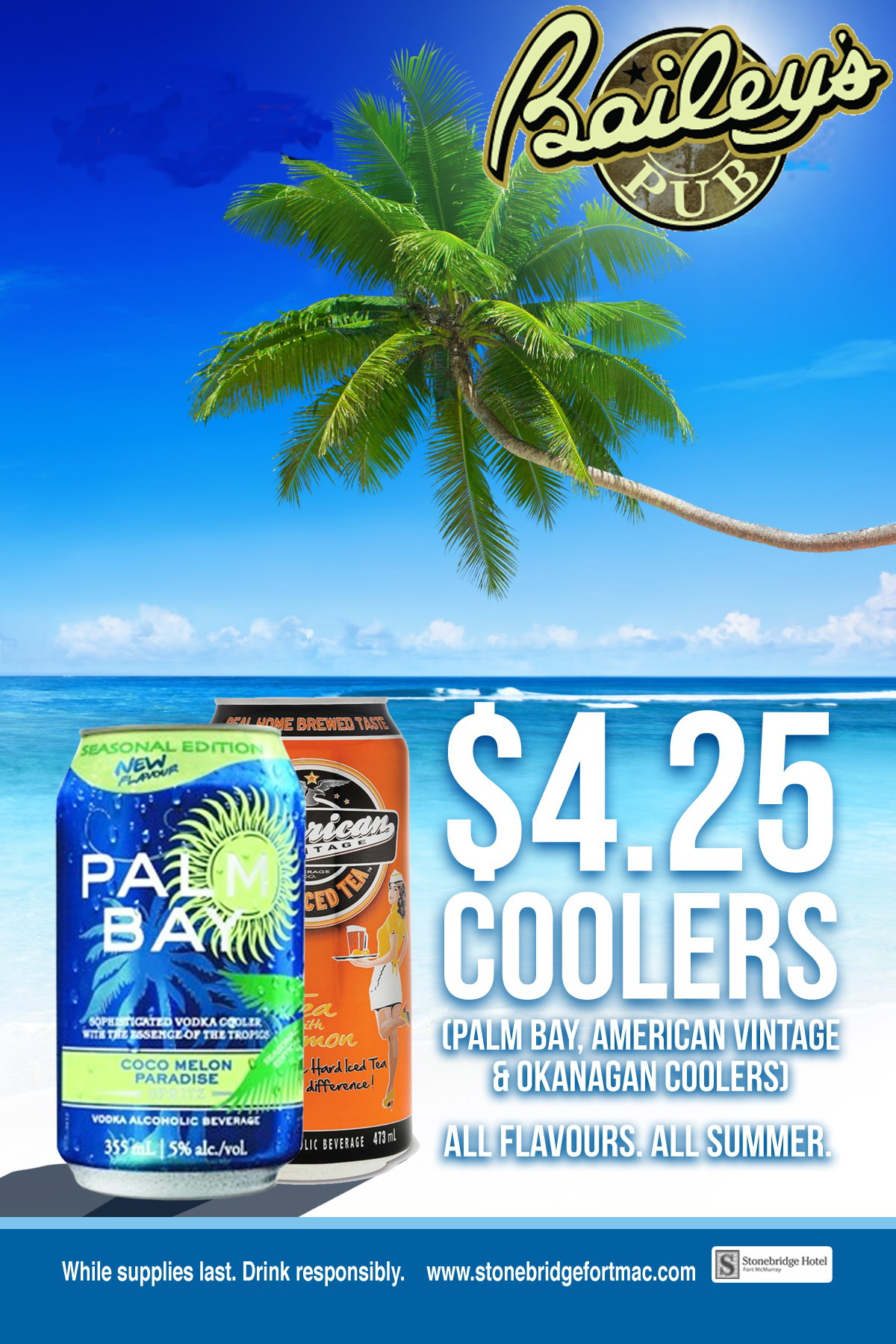 PALM BAY 4.25 SUMMER SPECIAL