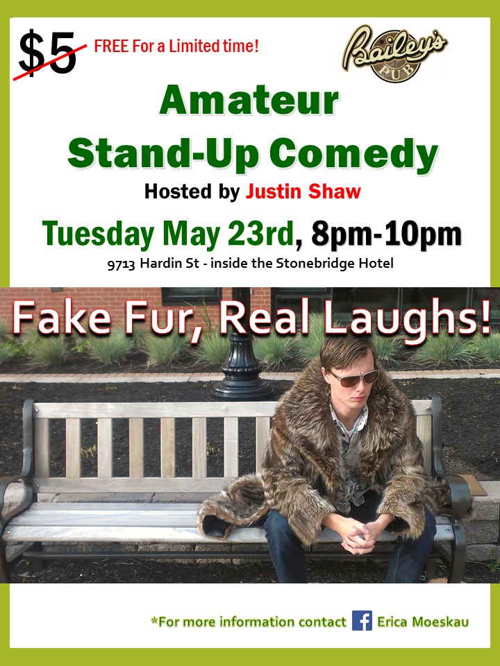 amateur stand-up Comedy Night
